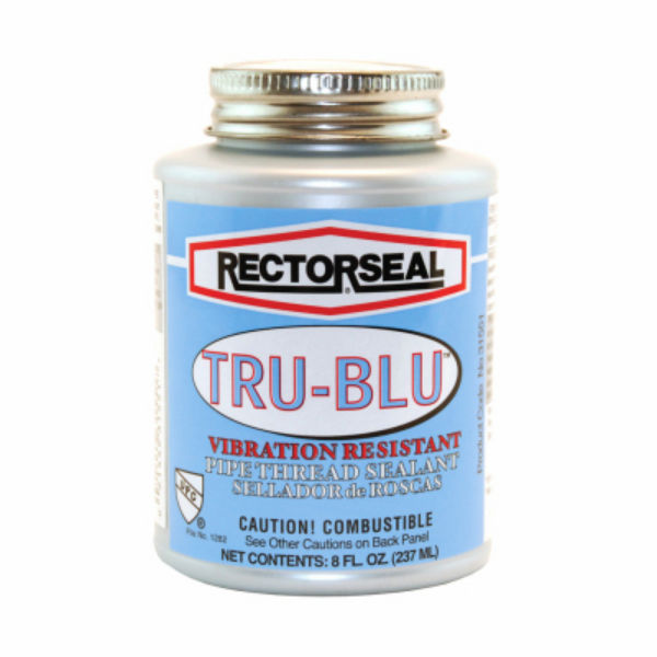 RectorSeal® 31551 Tru-Blu™ PTFE Enriched Pipe Thread Sealant, 0.56 Cu.Ft, 1/2-Pt
