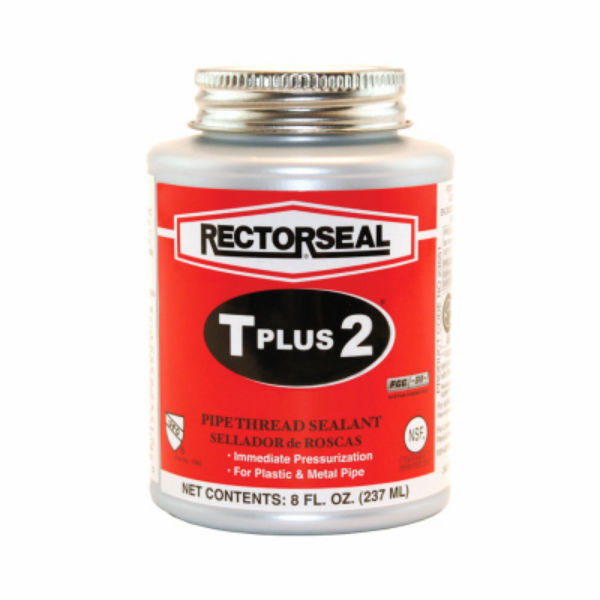 RectorSeal® 23551 T-Plus-2® PTFE Enriched Pipe Thread Sealant, 0.76 Cu.Ft, 1/2-Pt