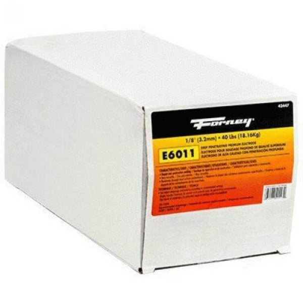 Forney® 42447 All-Position Steel Electrode Welding Rod, E6011, 1/8""