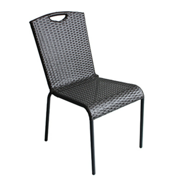 Four Seasons Courtyard RXTV-1815-C Sonoma Steel/Woven Chat Chair