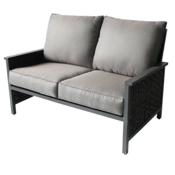 Four Seasons Courtyard RXTV-1822-LS Carrington Aluminum/Woven Loveseat
