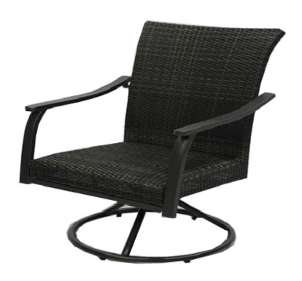 Four Seasons Courtyard BFX01901 Camden Swivel Rocker w/ Foam Seat & Steel Frame