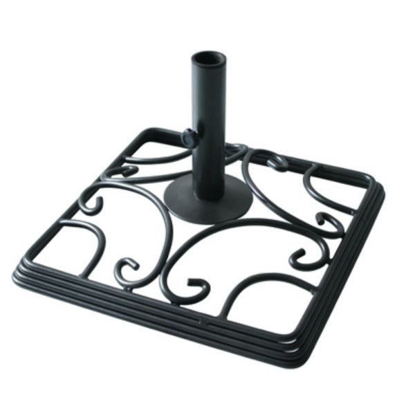 Four Seasons Courtyard RXTV-1805-BASE Newport Steel Patio Umbrella Base