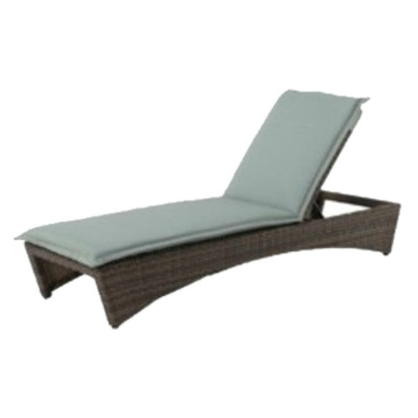 Four Seasons Courtyard 750-004-004 Melbourne Aluminum Chaise Lounge, 250 Lbs
