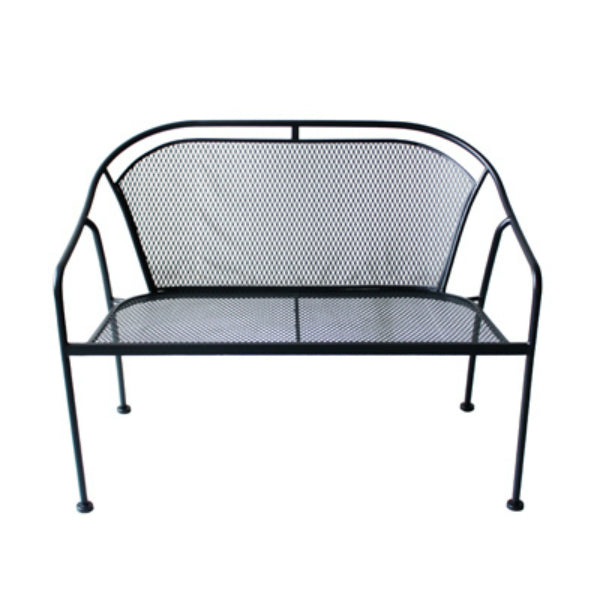Four Seasons Courtyard RXTV-1823-BN Uptown Steel Stackable Bench