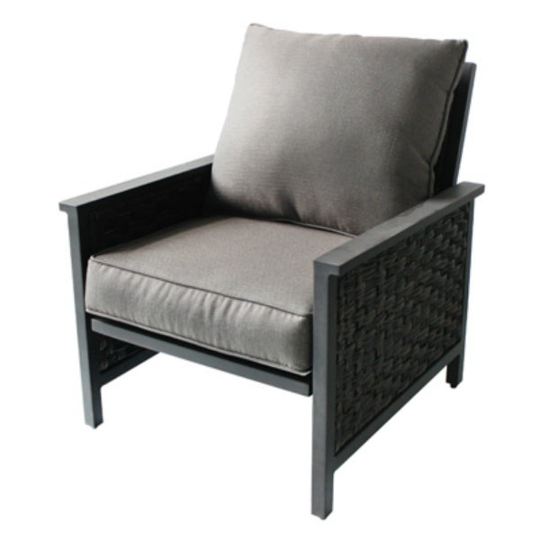 Four Seasons Courtyard RXTV-1822-LC Carrington Aluminum/Woven Lounge Chair