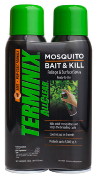 Terminix ATSB-200 Mosquito Bait & Kill RTU Spray, 2-Pack