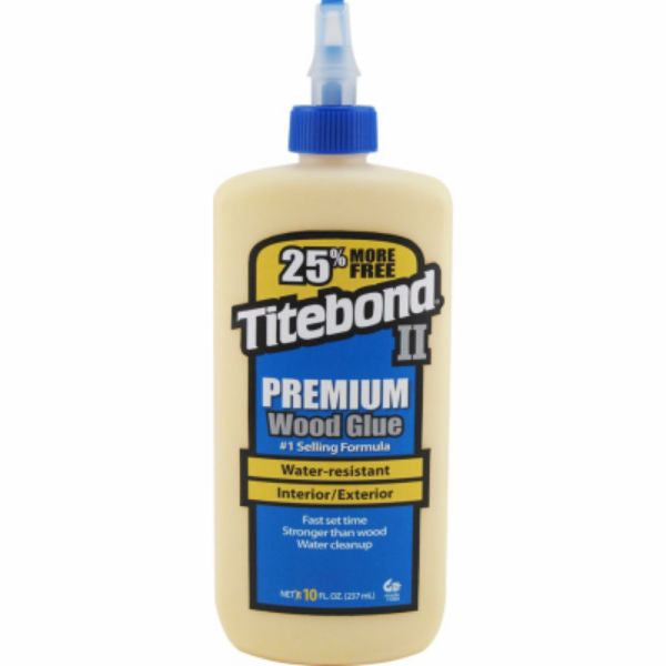 Titebond® II 5009S Premium Wood Glue, 10 Oz
