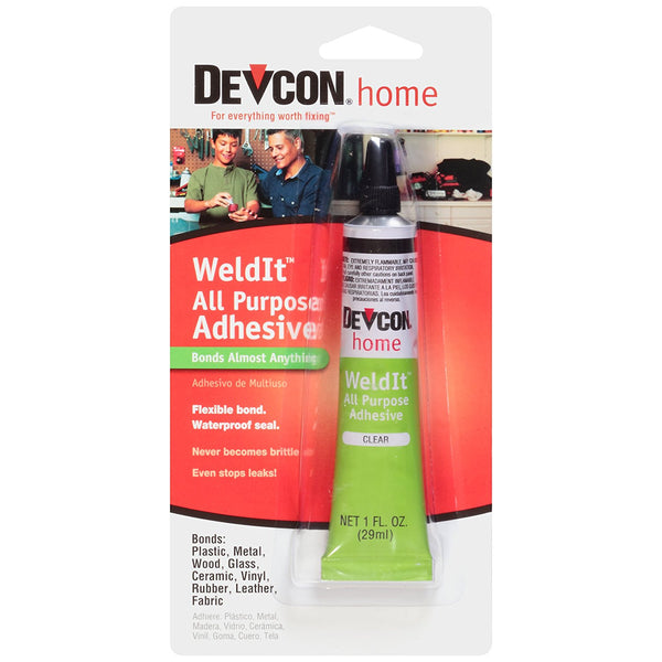 Devcon® 18245 Weld-It™ All Purpose Adhesive, Clear, 1 Oz