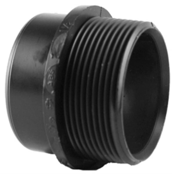 Charlotte Pipe Abs 00103 0800 Abs Dwv Trap Adapter Black