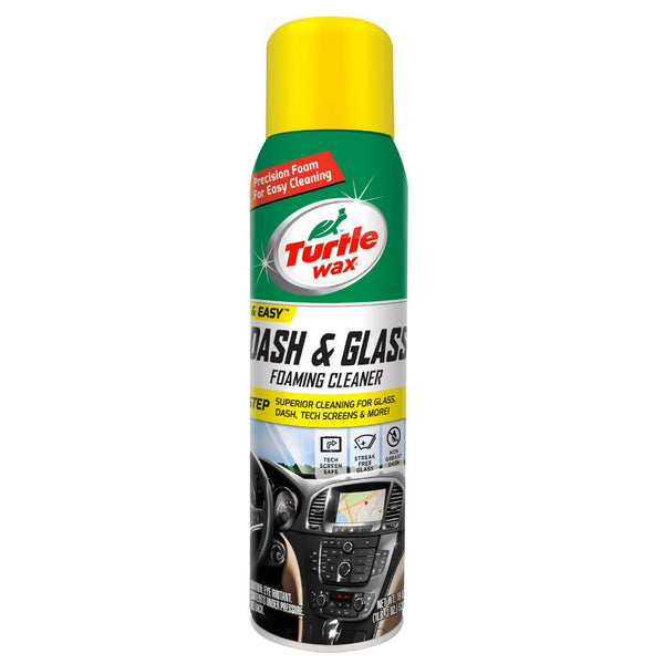 Turtle Wax® 50599 Dash & Glass Foaming Cleaner, 19 Oz Aerosol