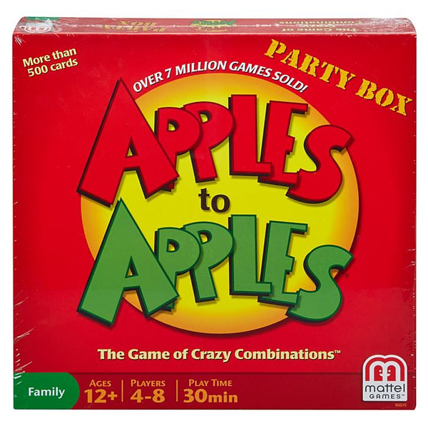 Mattel Games® BGG15 Apples-To-Apples® Party Box, Age 12+