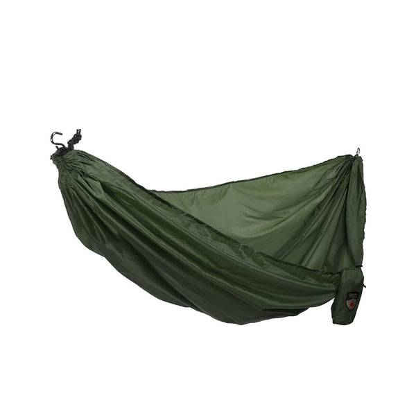 Grand Trunk® UH-02 Polyester Tafeta Ultralight Starter Hammock, Green, 200 Lbs