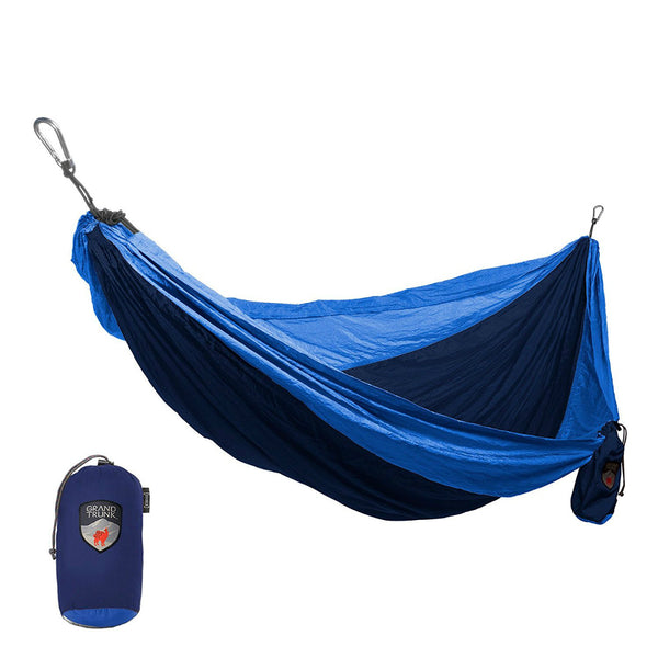 Grand Trunk® DH-02 Double Parachute Nylon Hammock, Light Blue, 400 Lbs Capacity