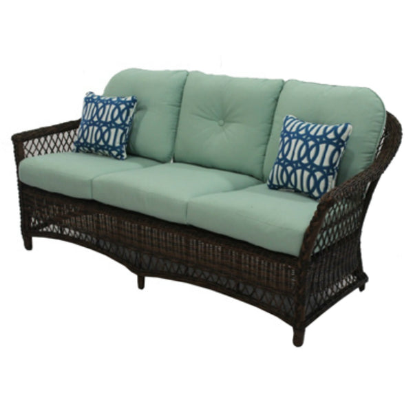 Four Seasons Courtyard BGH05506H60 Bermuda Sofa with Steel Frames, 250 Lbs