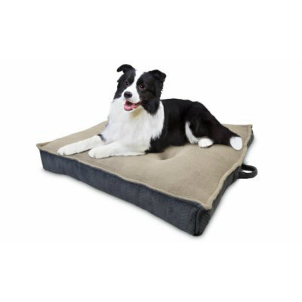 AKC® AKC6936 Jumbo Extra Dense Square Pet Bed, Assorted Colors, 36""