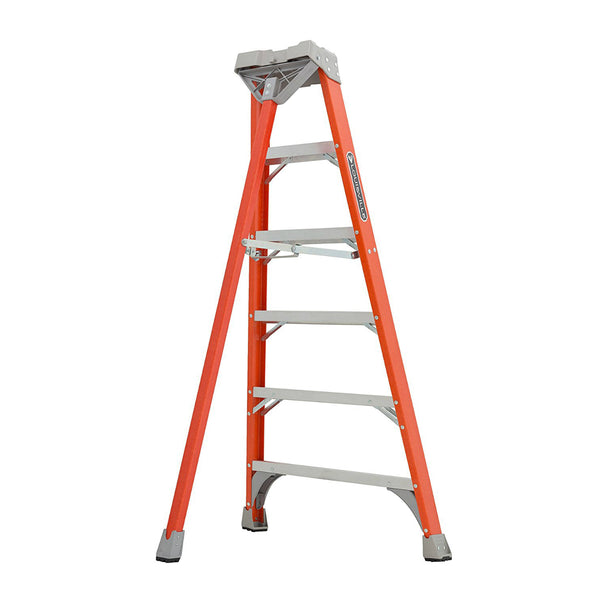 Louisville Ladder® FT1508 Type IA Fiberglass Tripod Ladder, 300 lbs, 8'