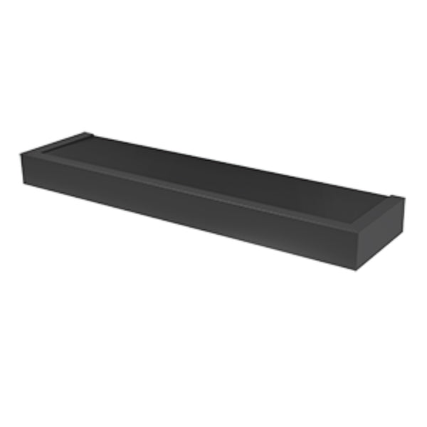 Hillman® 515608 High & Mighty™ Modern Floating Shelf, Black, 24""
