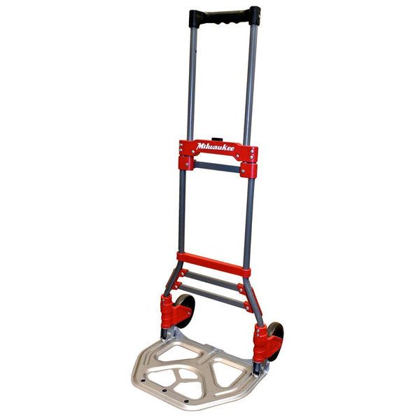 Milwaukee 73777 Fold-Up Hand  Truck w/ Telescoping Handle, 150 Lb Capacity