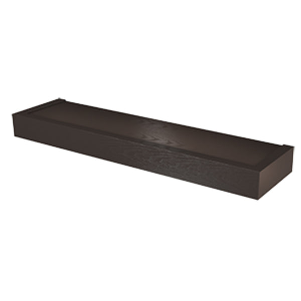 Hillman® 515609 High & Mighty™ Modern Floating Shelf, Espresso, 24""