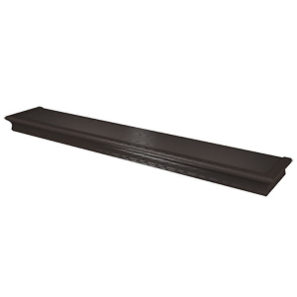 Hillman® 515618 High & Mighty™ Beveled Floating Shelf, Espresso, 36""