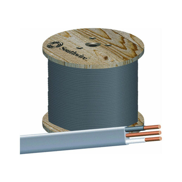 Southwire® 13055901 Underground Feeder Cable with Ground, 12/2, 1000'