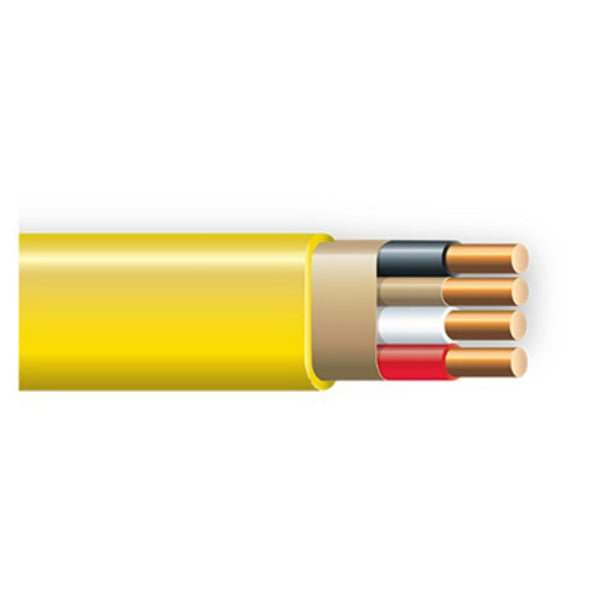 Southwire® 63947601 Non-Metallic Sheathed Cable with Ground, 12/3, Copper, 1000'