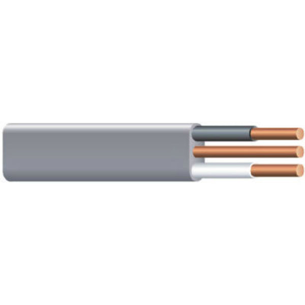 Southwire® 20858702 Underground Feeder Cable with Ground, 8/2, 125'