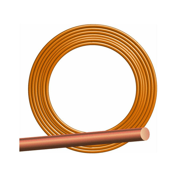 Southwire® 10632802 Solid Bare Grounding Copper Wire, 8 Gauge, 500'