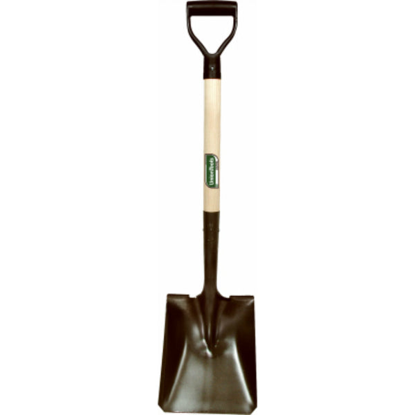 "Green Thumb 263125300 Square Point Transfer Shovel w/D-Handle, 8.25"" x 11"" Blade"