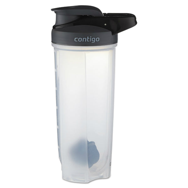 Contigo® 70290 Shake & Go® Fit Shaker Bottle, Smoke, 28 Oz