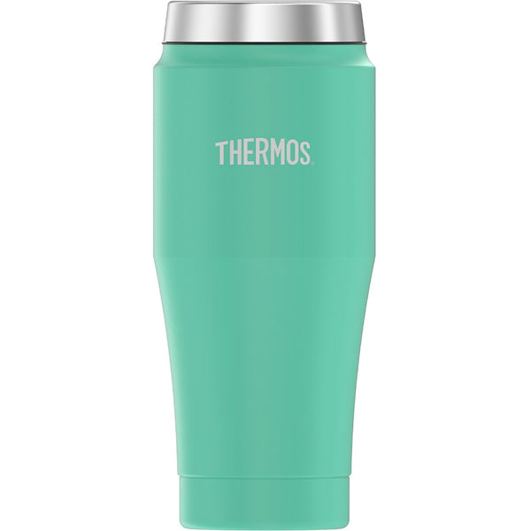 Thermos H1017SF4 Stainless Steel Travel Tumbler, Seafoam, 16 Oz