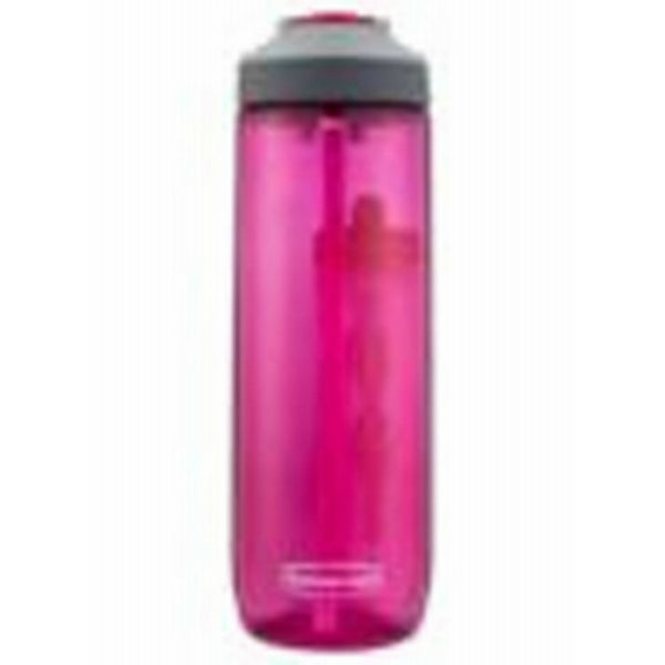 Rubbermaid® 2000833 Leak Proof Sip Water Bottle, Tart Pink, 24 Oz
