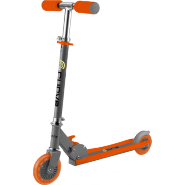 Curve® CRV04058ORAN Light Up Wheel Scooter with Soft Foam Handles, Orange