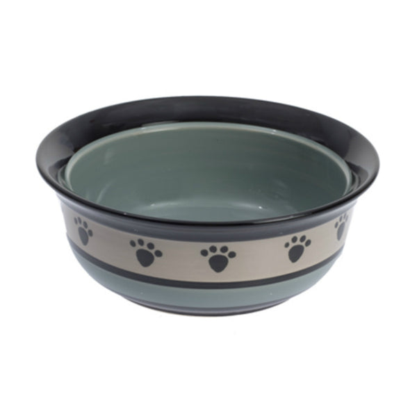 "PetRageous Designs® 44248 Metro 6"" x 2.5"" Deep Pet Bowl, 2-Cups"
