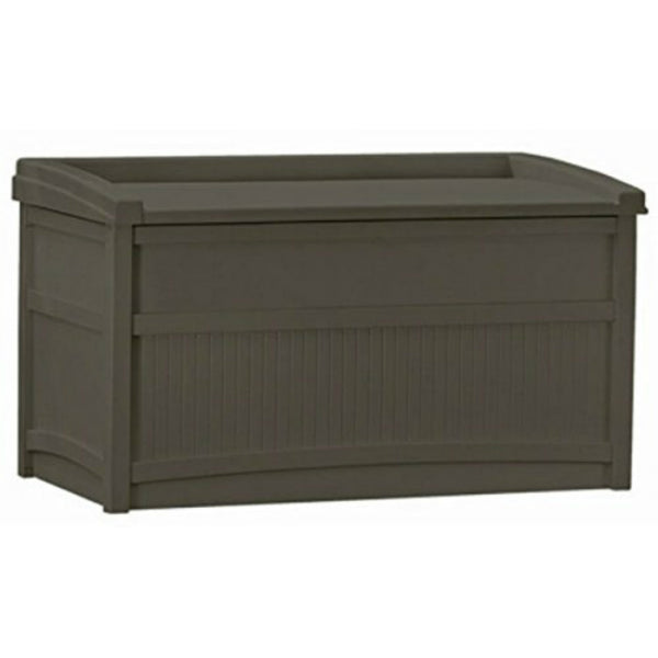 Suncast® DB5500J Deck Box with Seat, 50 Gallon