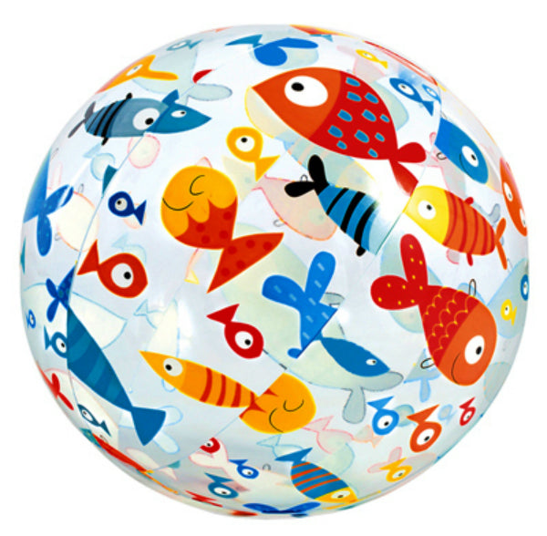 "Intex® 59050EP Lively Print Beach Ball, Assorted Designs, 24"", 1-Qty"