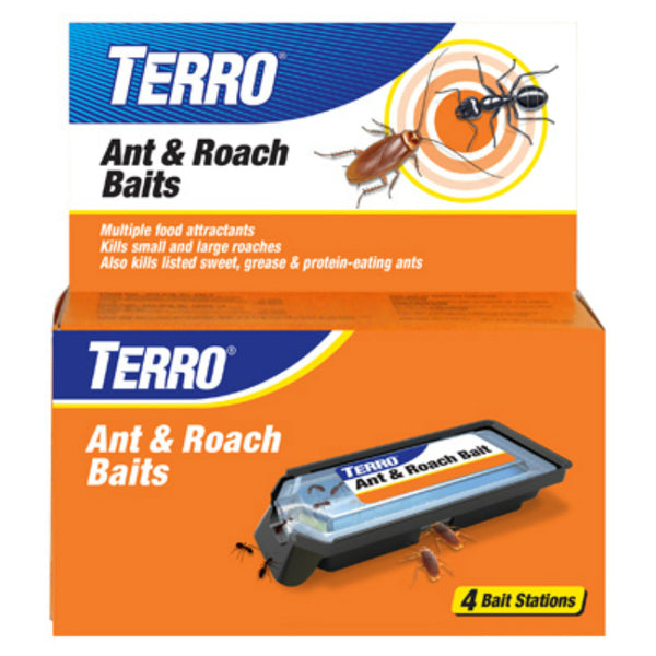 Terro® T360 Ant & Roach Bait Station, 4-Pack