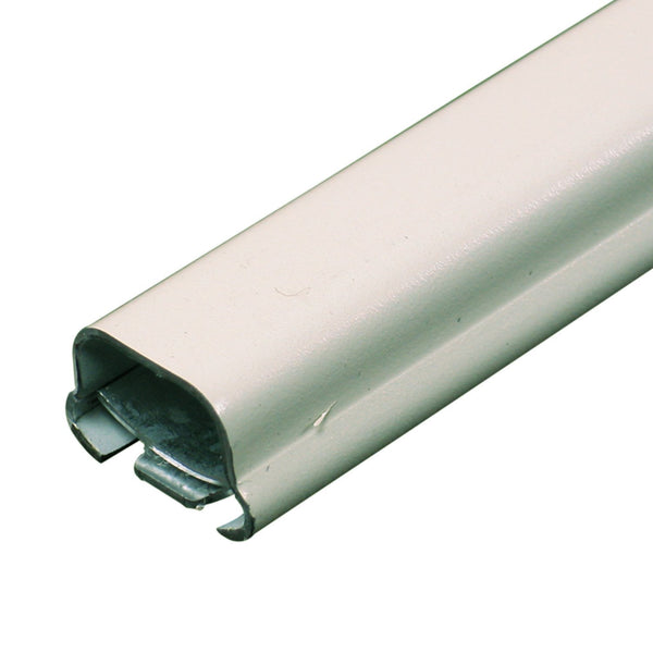 Legrand® BWH1 Wiremold® Metal Raceway Wire Channel, White, 5'