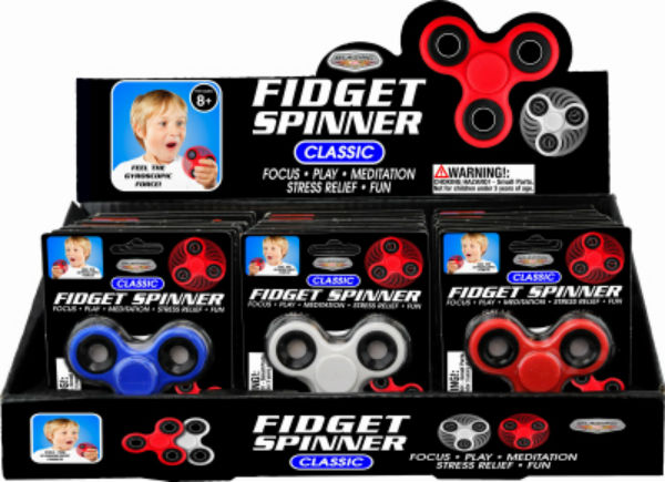 Blazing Ledz 702539 Classic Fidget Spinner, Assorted Colors