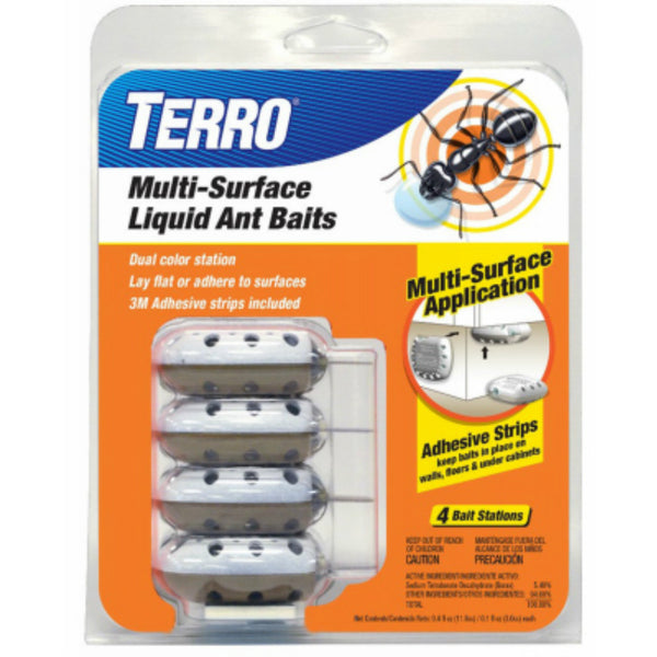 Terro® T334 Multi Surface Liquid Ant Baits with Adhesive Strips