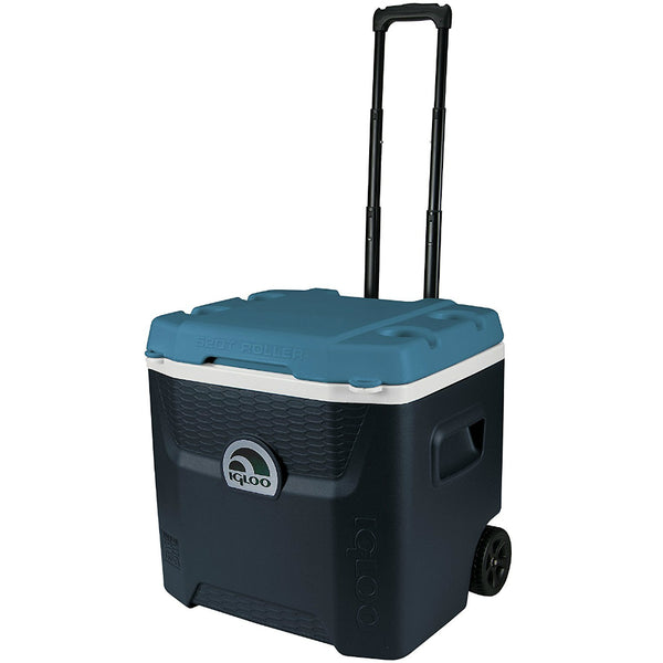 Igloo® 34067 Maxcold™ Quantum Wheeled Cooler with Triple Snap, 52 Qt