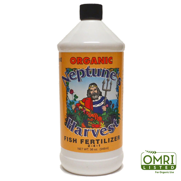 Neptune's Harvest HF136 Organic Fish Fertilizer, 2-4-1, 1 Qt