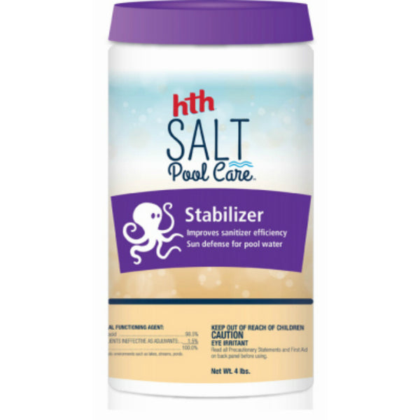 HTH® 67003 Salt Pool Care Stabilizer, 4 Lbs