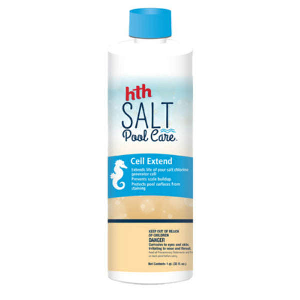 HTH® 67021 Salt Pool Care Cell Extend, 32 Oz