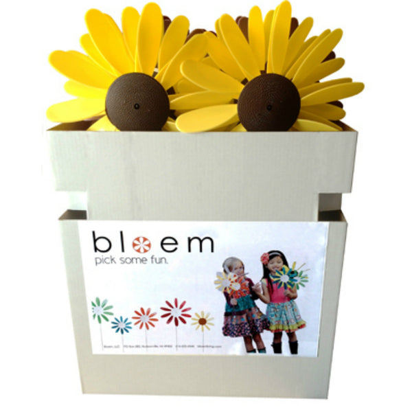 Bloem® PDQDAISYSM-ASST4 Small Daisy Spinner, 3-Assorted Colors, 24 Piece