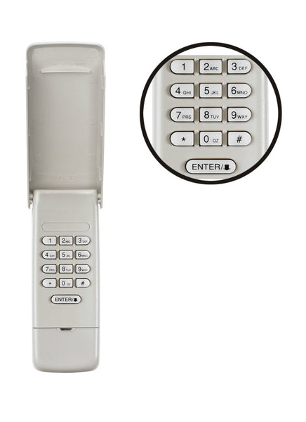 Chamberlain® 940EV-P2 Garage Access Wireless Keypad with Battery & Weather Cover