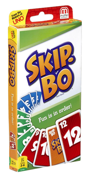 Mattel Games™ 42050 Skip-Bo® Card Game, Age 7+