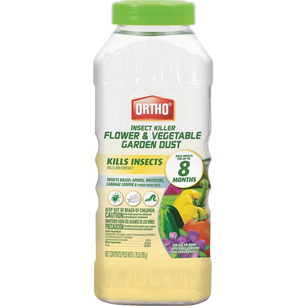 Ortho 0424812 Insect Killer Flower & Vegetable Garden Dust, 1.75 Lb