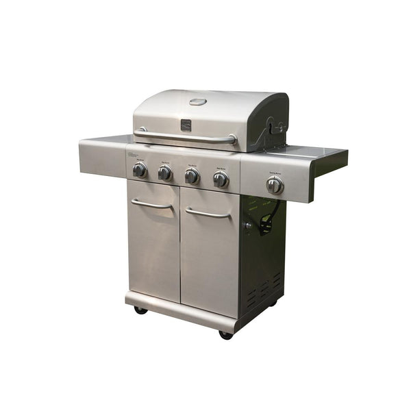 Kenmore® PG-40405SOL 4-Burner LP Gas Grill with Side Burner, Stainless Steel